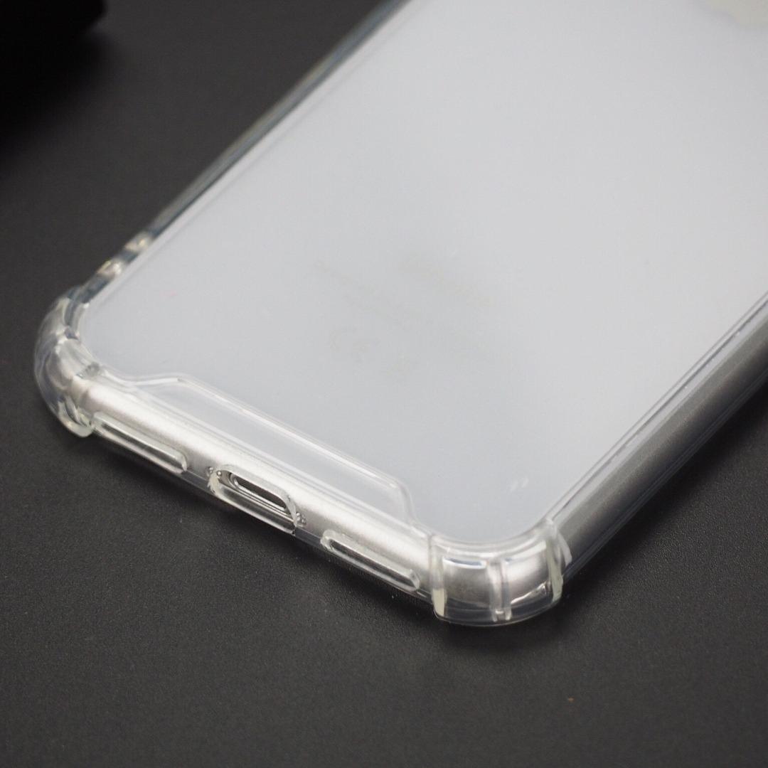 Funda iPhone 5 6 7 8 Plus X Xr Xs Max Transparente Reforzada