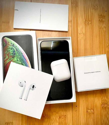 iphone xs max y airpods 2 más carga rápida