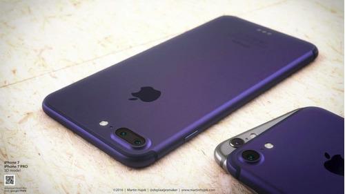 iphone7 plus 32gb, nvos y originales + 1 año de grtía + mica