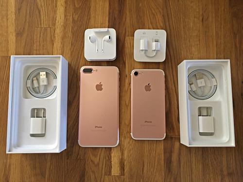 iphones 7 plus 32gb nuevo + desbloqueado