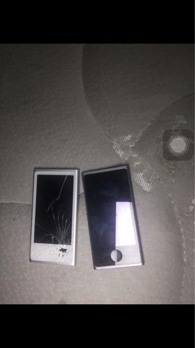 ipod 7 generación 16gb blanco , y plomo