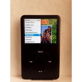 iPod Clasic 6 Generacion De 80 Gb Negro Cargador Cable Estuc