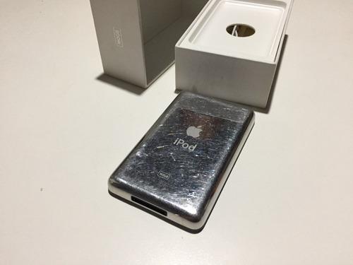 ipod classic 160 gb en caja ! como nuevo !