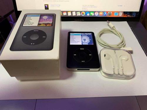 ipod classic 160gb bien conservado con caja y accesorios