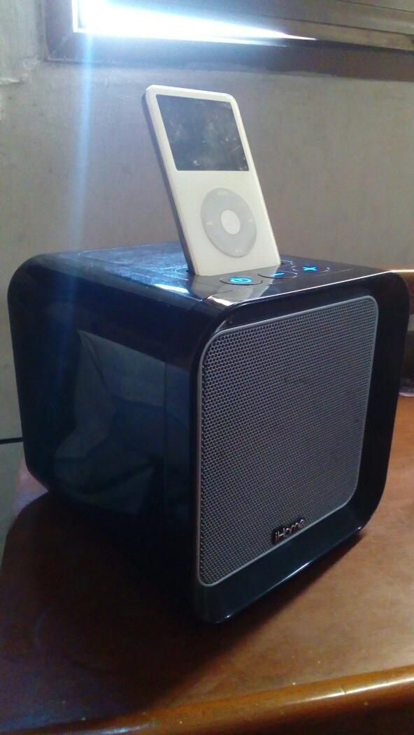 iPod Classic 30gb Con Dock Ihome Subwoofer Vendo O Cambio - Bs  4 500,00