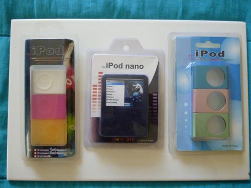 ipod nano 3 generacion estuche de silicona