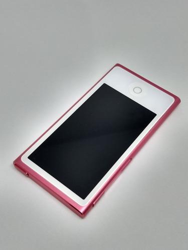 ipod nano 7 16gb bluetooth rosa rádio fm parcelado - df0gm