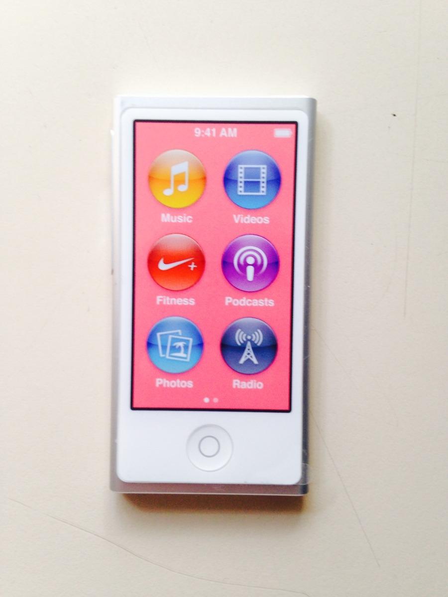 ipod nano 7g nuevo 2 en mercado libre. Black Bedroom Furniture Sets. Home Design Ideas