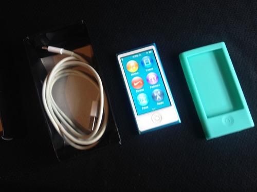 ipod nano 7ma generacion 16gb azul como nuevo apple touch