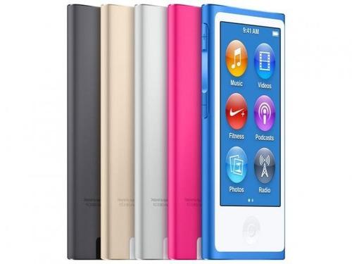 ipod nano 7th apple 7ª geração 16gb tela touch 2,5 lacrado