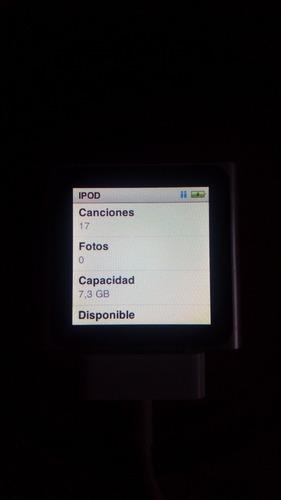 ipod nano 8 gigas