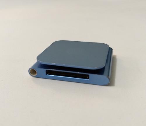 ipod nano 8gb 6 geração azul rádio usado parcelado - addvy