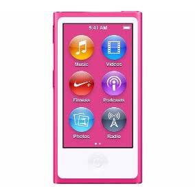 ipod nano apple 16 gb 7ma generacion nuevo rosa