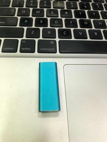 ipod shuffle 3ra generación de 2 gb azul