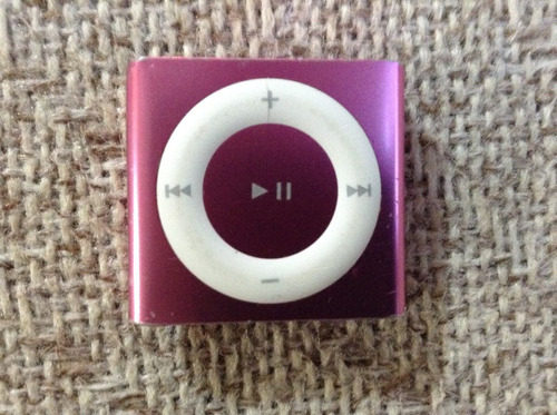 ipod shuffle 4g de 2 gb rosa con accesorios