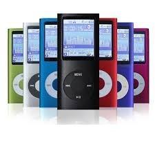 ipod shuffle / mp4 player 8gb+cabo usb+fone+pronta entrega