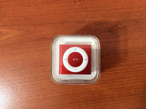 ipod shuffle red edition