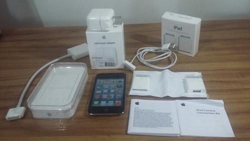 ipod touch 32g 4a geracao + acessórios
