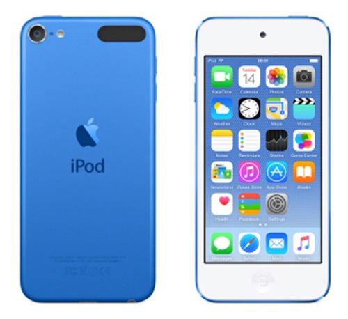ipod touch 32gb 6g 6ta generacion azul nuevo caja sellado
