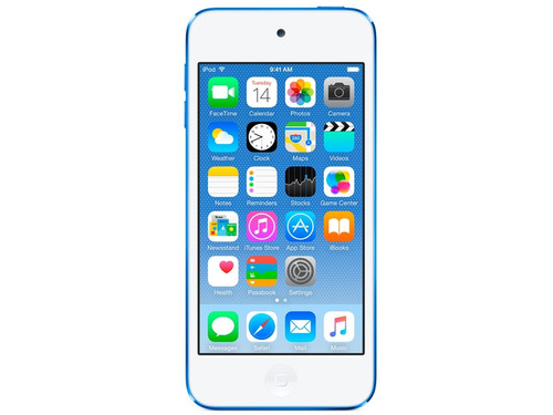 ipod touch 32gb 6ta generación azul apple