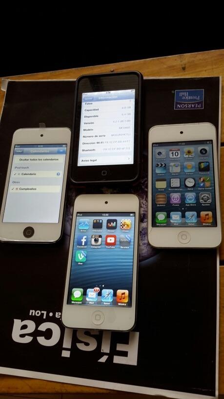 iPod Touch 4 Generacion De 8 Gb En Adelante Cargador Cable ...