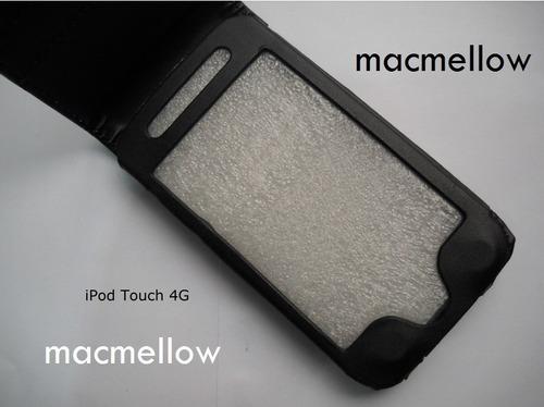 ipod touch 4g funda estuche protector case cover con flip