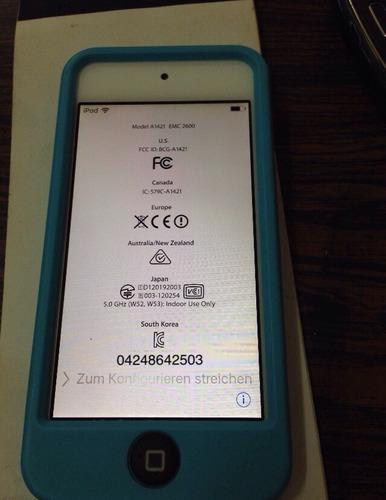 ipod touch 5g lea descripción