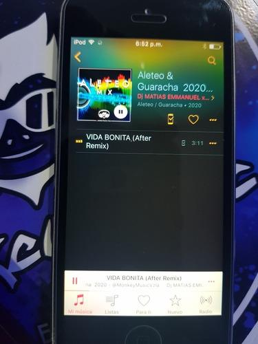 ipod touch 5ta generación, 32gb mod: 1421 full música