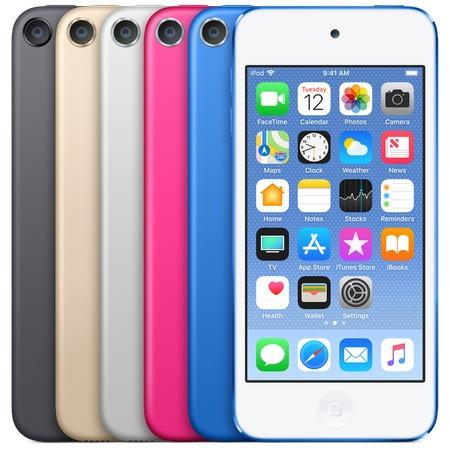 ipod touch 6º geração a1574 16gb retina novo a pr. entrega!#