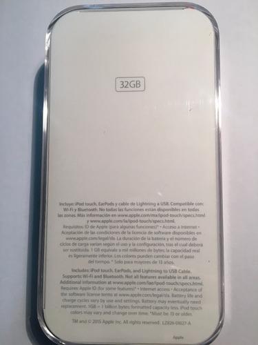 ipod touch 6g 32gb  apple mac nuevo