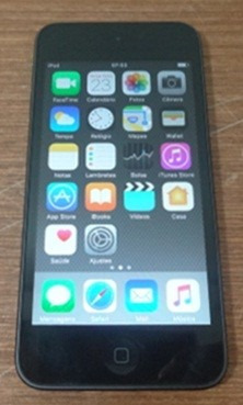 ipod touch 6ta geracao mkh62lz/a 16gb cinza espacial