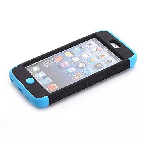 ipod touch 6th generation case, lantier 3 capas verge hybri