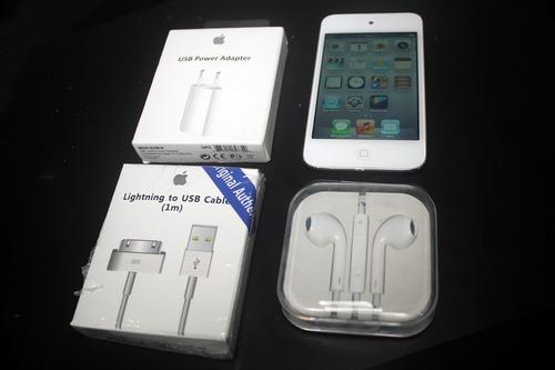 ipod touch 8gb original-com os acessórios-modelo: md057bz/a