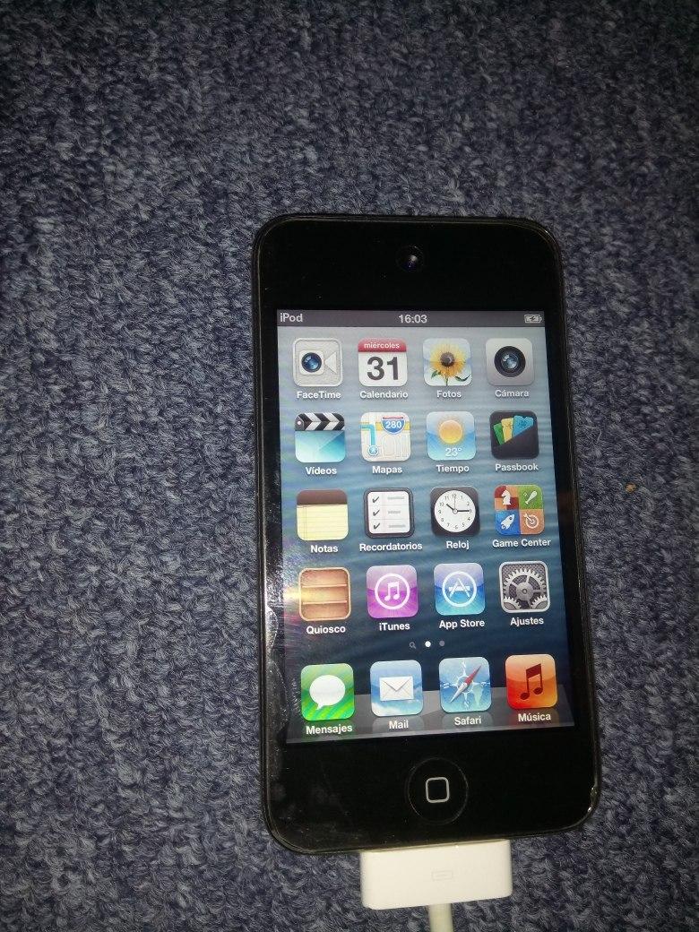 Ipod Touch Cuarta Generacion 16 Gb Con Detalle - $ 800.00 en Mercado ...