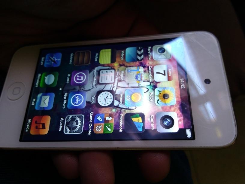 Ipod Touch Cuarta Generacion 16gb - $ 550.00 en Mercado Libre