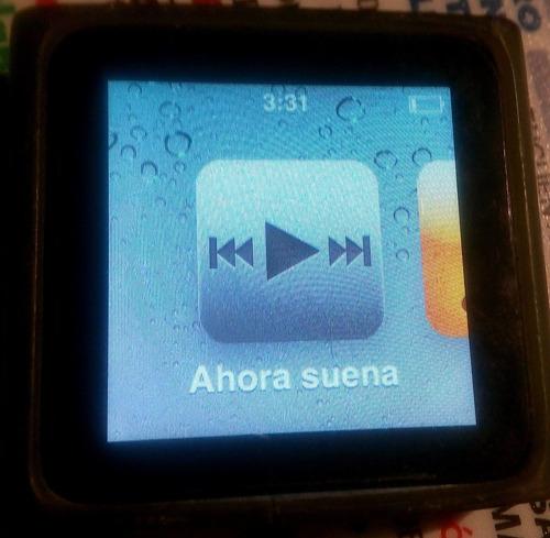 ipod touch nnao 16 gb original. azul poco uso