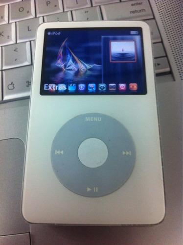 ipod video 80 gigas lindo estado cargado con musica y video