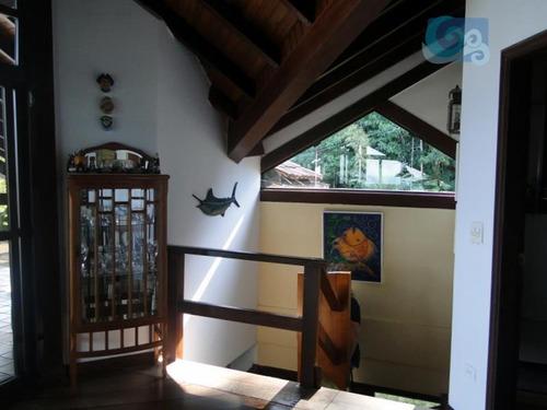 iporanga casa  à venda condomínio  iporanga, guarujá - ca0274
