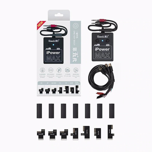 ipower max qianli cabo alimentação iphone 6 7 8 x