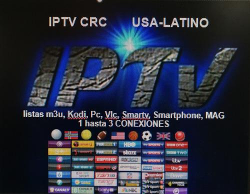 iptv cuentas canales de 1 y 3 meses