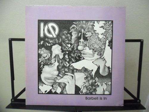 iq barbell is in vinil orig prog 45 rpm raridade 1984 vr7