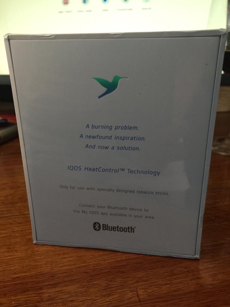 Iqos Heets 2 4 Plus Bluetooth -comprado En Rusia-caja Cerrad