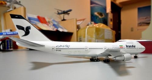 iran air 747-200 herpa 1/200