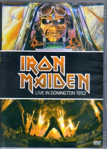 iran maiden live in donington 1992 dvd original novo lacrado