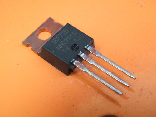 irf720 n-channel power mosfet 400v 3a