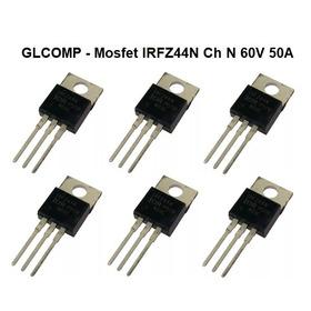 Irfz44n Transistor Mosfet Ch N 60v 50a Kit C/ 20 Pçs - Carta