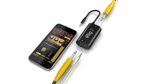 irig 2 adaptador interfaz guitarra iphone ipad ik multimedi