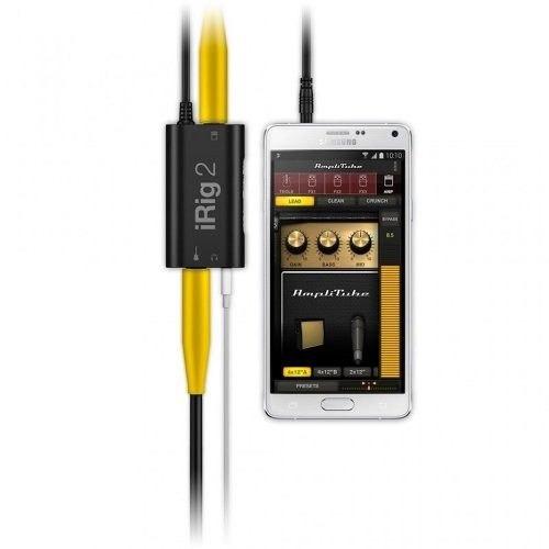 irig 2 adaptador interfaz guitarra iphone ipad ik multimedia
