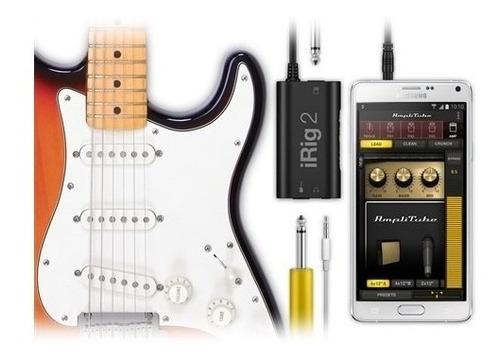 irig 2 guitar amplitube interface p/ iphone/ipad/ipod