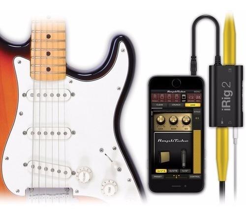 irig 2 ik interface áudio placa som ipad ipod iphone android